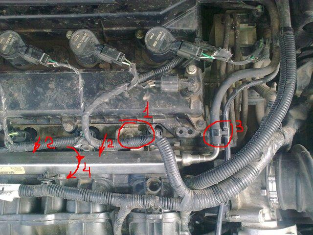 замена колец форсунок ford s-max