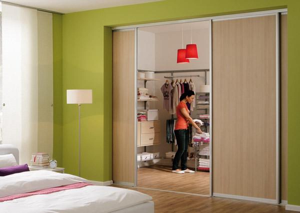 Как сделать купе дверь в комнату в