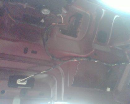 ХИМЧАНИН 16 Апреля 2008.  И на двери.  Проблемы с замком багажника.
