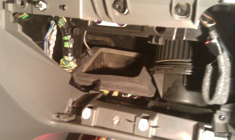ремонт заслонок отопителя ford s-max