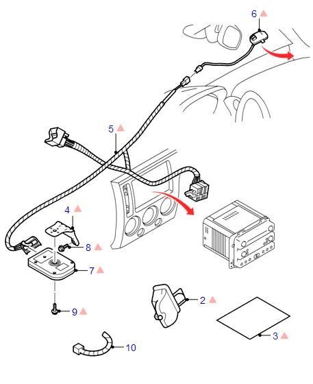 перечень документов управление кузовом форд фокус 3 гипсовой головы РИСУНОК