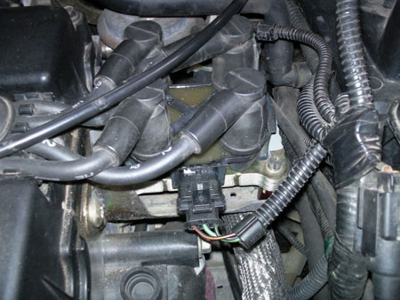 Схема подключения высоковольтные провода форд фокус