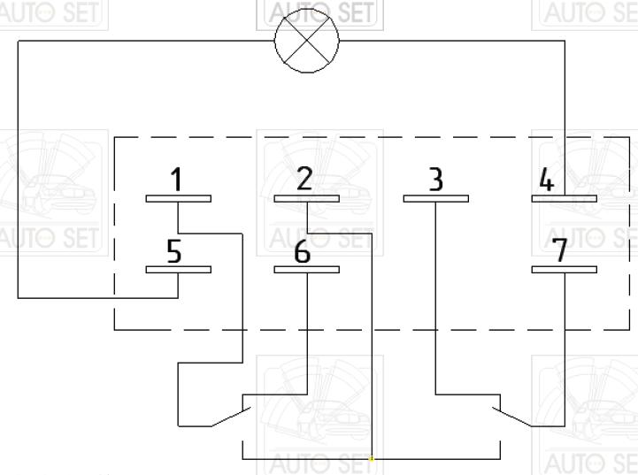 Подключение кнопок к ЭСП без реле и доводчиков.