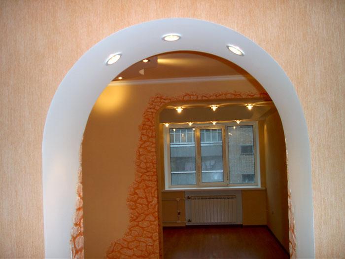 Фото арок из гипсокартона. - Белорусский клуб бульбаш.