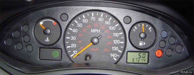 форд фокус 2 принцип работы тахометра