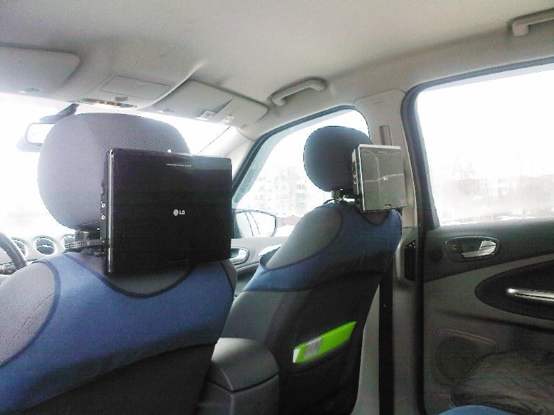 Монитор на подголовник автомобиля своими руками