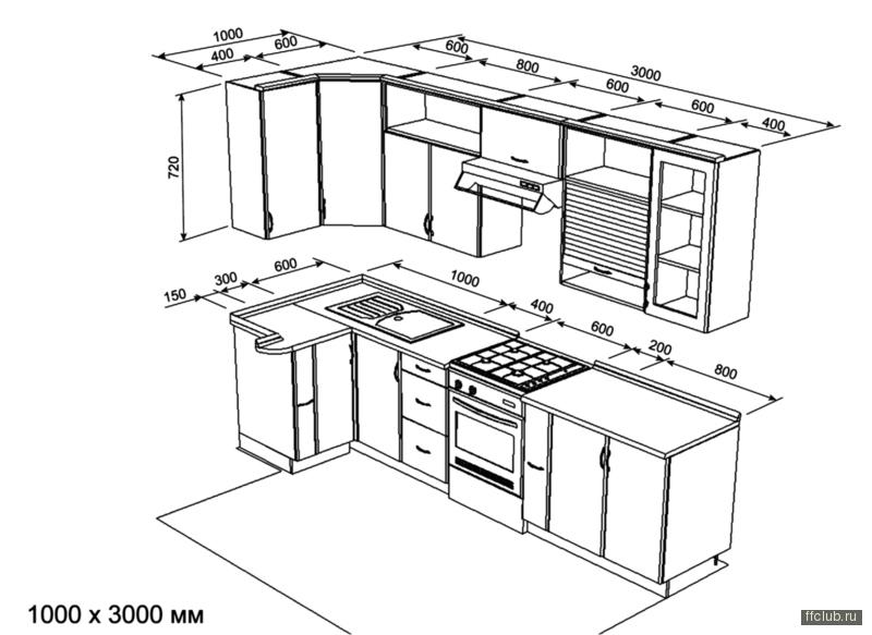 это кухня дома п44,