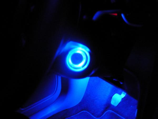 Подсветка замка зажигания своими руками солярис 49