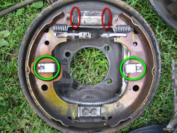 Замена тормозных колодок форд фокус 2 задних 198