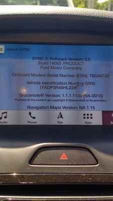 Ford Sync 3 - мультимедиа и навигация (с  45) - Ford Focus 3