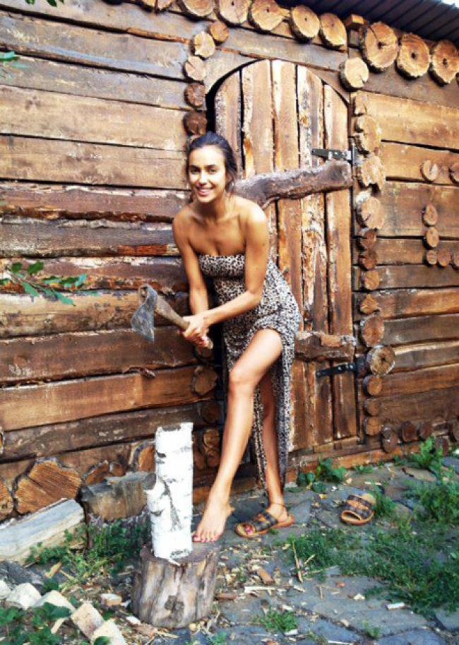 Голые деревенские бабы в русской бане в деревне, горячее наслаждение порно