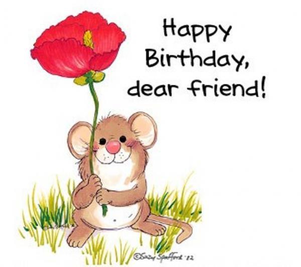 Поздравительные открытки с днем рождения подруге на английском